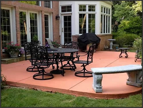 Concrete Patio Installation Wisconsin