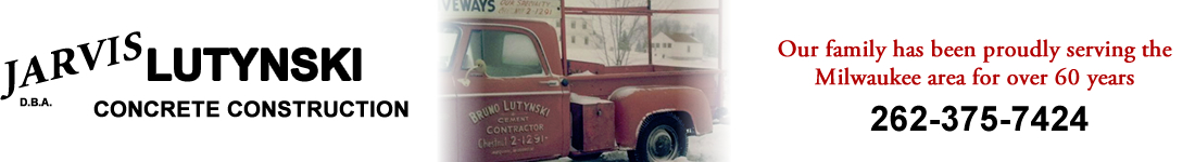 Jarvis Lutynski Concrete Construction and Services Grafton Wisconsin